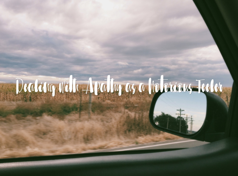 Dealing with Apathy as a Notorious Feeler: Finding Comfort inTruth